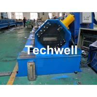 150 / 300mm Cable Tray Cold Roll Forming Machine With GI , Carbon Steel Raw Material Manufactures