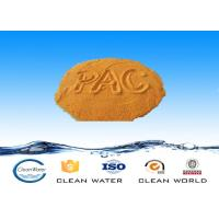 China PAC 02 MSDS Poly Aluminum Chloride Water Treatment PAC 30%  Cas NO 1327 41 9 on sale
