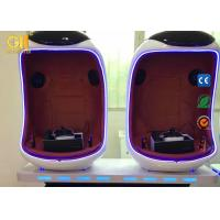 1 - 3 Seats 9D Egg VR Cinema W1.7*D1.1*H1.85 With 3D Surrounding Audio System