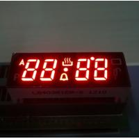 Digital Red 4 Digit Seven Segment Display Common Anode For Fuel Gauge Manufactures
