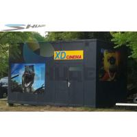 XD  Movie Theater Equipment, 3D 4D 5D Mobile Cinema Cabin For Indoor / Outdoor Manufactures