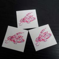 China CMYK body fake custom flower temporary tattoo sticker fake tattoo on sale