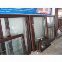 Solid wood windows with aluminum cladding outside Manufactures