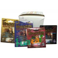 China Herbal Miraclezen Sex Drug Natural Male Enhancement Supplements With 24 Capsules / Box on sale