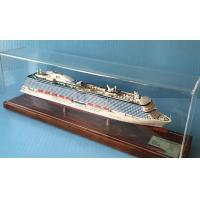 China Royal Princess Cruise Ship Models ,  Composite Paint Wooden Boat Models on sale