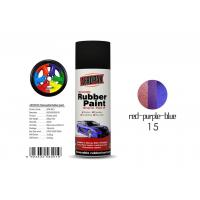 Air Dry Removable Rubber Spray Paint With Chameleon Red - Purple - Blue Color Manufactures