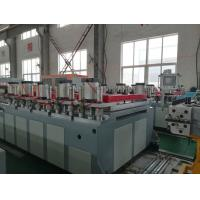 Recycled Kitchen Board Wpc Board Manufacturing Machine 4mm - 25mm Thickness Manufactures