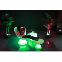 Luxury Outdoor Swimming Pool led Lounge chari /PE chair Manufactures