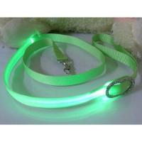 Soft Silknet Blue LED Glow Pet Collars Manufactures