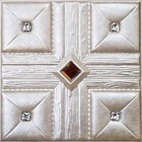 China PVC leather Wall Panel for interior wall decoration on sale