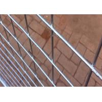 Hot Dipped Galvanized Steel Temporary Fencing With 38MM Pipe Plastic Foot Manufactures