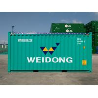 20 Foot High Cube Open Top Container , Custom Color Steel Shipping Containers for sale