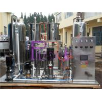 Automatic Soft Drink Processing Line High Power Soda Water CO2 Mixer 6000L/H Manufactures