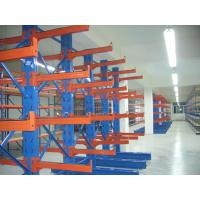 China Stainless Steel Cantilever Storage Racks , High Density Metal Storage Shelves on sale