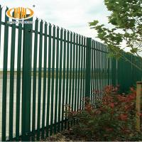 hot sales alibaba china d section palisade fence,w section palisade fence,cheap w section palisade fence Manufactures