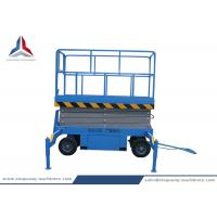 Towable Hydraulic Mobile Scissor Lift Table with 8m Platform Height Manufactures