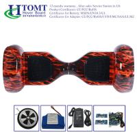 Auto Red Flame Self Balancing Electric Scooter Drifting Board Waterproof Manufactures