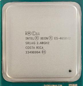 China CPU Intel Xeon E5 4600 v2 2.40 GHz Ten Cores E5 4650 v2 8 GT / s QPI Speed SR1AG on sale