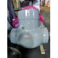 """Pressure Seal Swing Check Valves,6"""",WCB,Butt-Weld End,Stv Provides WCB Check Valves, Swing Type, Pressure 1500 LB, 6 Inc Manufactures"""