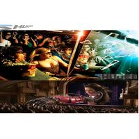 6D Cinema Movie Theater With 3D Glasses, Rain, Wind, Lightning Special Effect System Manufactures