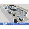 Buy cheap Modern MDF Jewellery Showroom / Custom Jewelry Display Cases from wholesalers