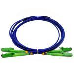Armored E2000 APC Optical Fiber Patch Cord Duplex Fiber Count High Indentation Strength Manufactures