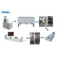 Easy Handle Automatic Chocolate Making Machine PLC Control Screen 4800kg Manufactures