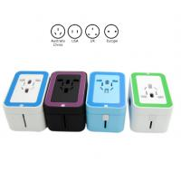 Small AC Dual USB Travel Charger Adapter , Power Travel Adaptor With USB Port Manufactures