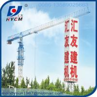 QTP5010 5ton construction topless types of tower crane Manufactures
