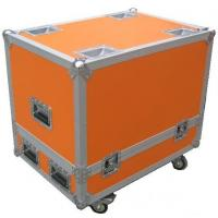 Orange 12U Flight Case Hardware Plastic Cases For DJ Mixer Case Manufactures