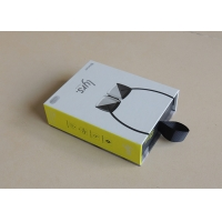 China 180gsm CMYK Magnetic Closure Gift Box 23X18X7cm With Tail on sale