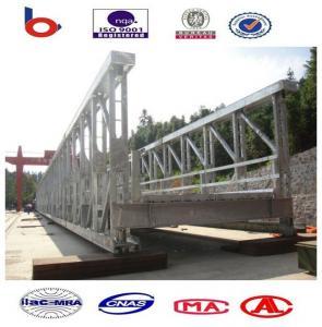 Prefabricated Modular Steel Bridge, Army Bailey Bridge High Strength Manufactures