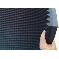 50mm Thickness Rubber Acoustic Foam Panels One Side Adhesive Sound Proof Manufactures