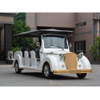 Quality Sightseeing 11 Seats Electric Vintage Cars with Corrosion Resistance Body CE for sale