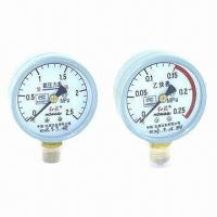 China Pressure gauges for oxygen and acetylene on sale