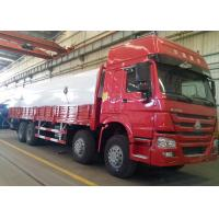8x4 Heavy Cargo Truck HOWO HW76 Cabin Single Sleeper 30 - 40 Ton Loading Manufactures