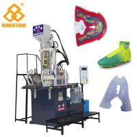 China 1 Station Vertical Small Plastic Shoes Making Machine For Sports Shoe Upper Strap on sale