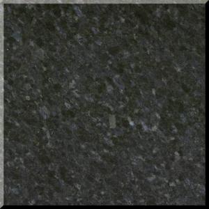 China Natural Black Pearl Granite Stone Slabs For kitchen , bathroom interior floor on sale