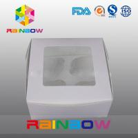 Cardboard Paper Box Packaging With Clear PVC Window For Toys / Gifts Manufactures