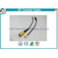 Right Angle RF Broadband Coaxial Cable Outdoor Coaxial Cable  For Car Manufactures