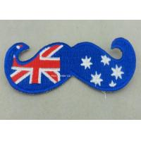 Australia Woven Custom Embroidery Patches Lapel For Business Manufactures