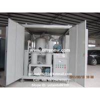 China High Vacuum Transformer Oil Purification Plant   Dielectric Oil Filtration System ZYD-100 on sale