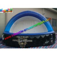 Blue Inflatable Bar Counter Party Tent rentals PVC Tarpaulin Material Manufactures
