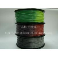ABS PLA 3d printer filament color changed with temperature for Cubify and UP Manufactures