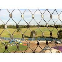 Yuntong 1.6mm Stainless Steel Bird Mesh / Metal Bird Netting SGS Approved Manufactures
