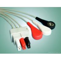 China 3 Lead ecg leadwire for ASP-Plug System AHA on sale
