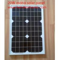 China factory price small size 20W mono solar panels for sale Manufactures
