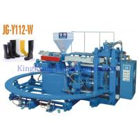 China Automatic Plastic Shoes Making Machine For PVC Rain Shoes / Gumboots on sale