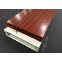 Sound Absorption Hanging Acoustic Baffle Panels Strip Width 35mm Manufactures