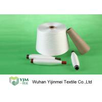 Knitting / Weaving Polyester Spun Yarn Bright Color With 100% Polyester Staple Fiber Manufactures